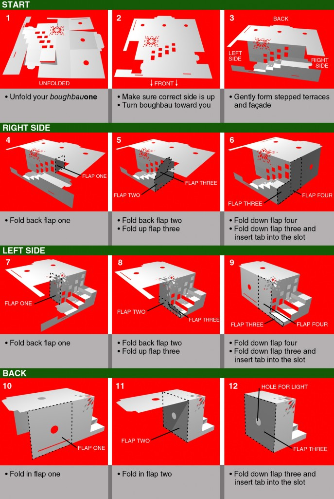 Holiday Card Instructions